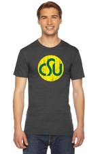 CSU Rams Old School Grey T-shirt